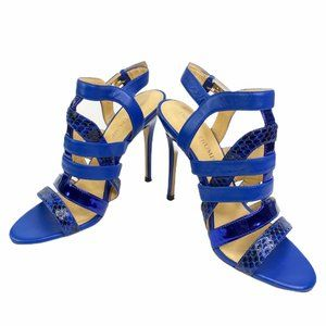 Ivanka Trump Haslets Open Toe Caged Heels Shoes 6
